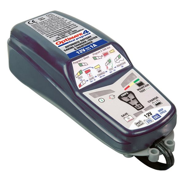 Optimate 4 Dual Program Battery Charger - 1.0A