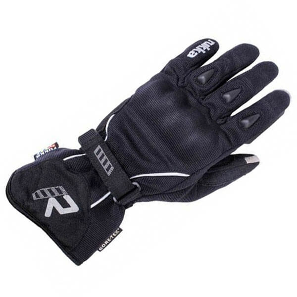 Rukka Virium Gore Tex Xtrafit Black Motorcycle Gloves