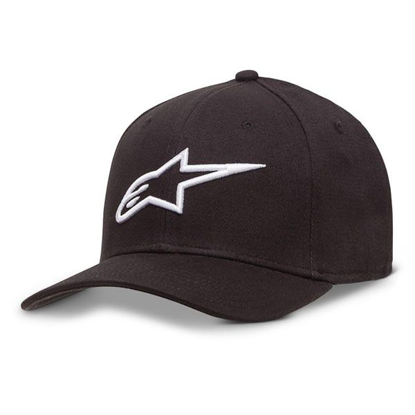 Alpinestars Ageless Curve Hat - Black/White