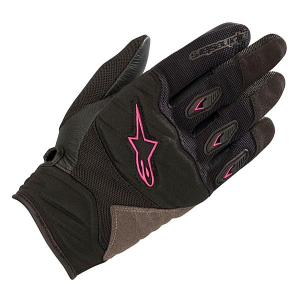 Alpinestars Shore Ladies Gloves - Black/Fuchsia