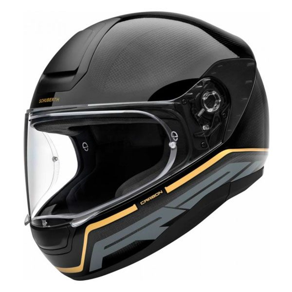 Schuberth R2 Carbon - Stroke Gold