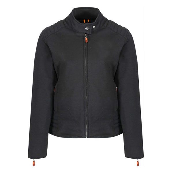MotoGirl Louise Kevlar Jacket - Black