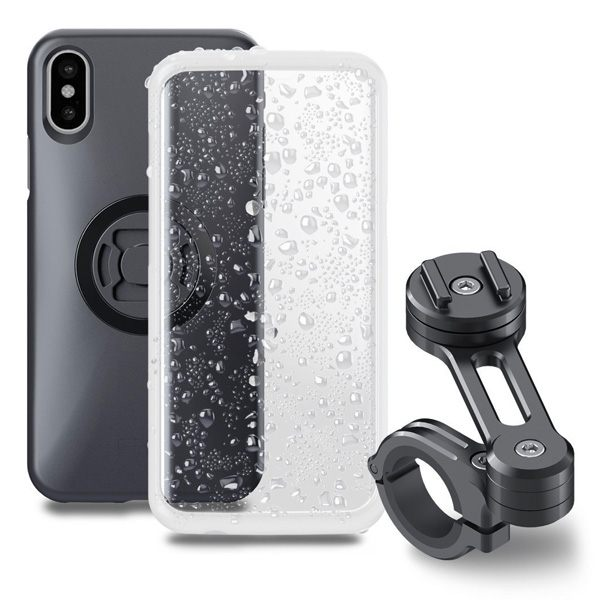 SP Connect Moto Bundle - iPhone X - Black