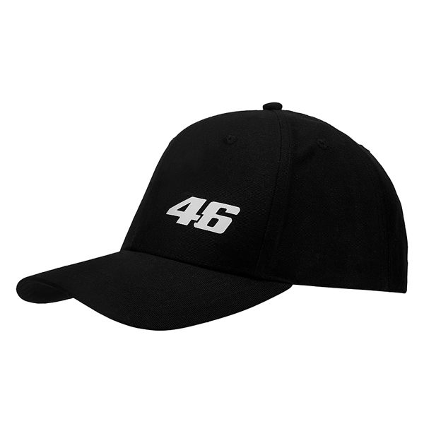 VR46 Core Baseball Cap - Black