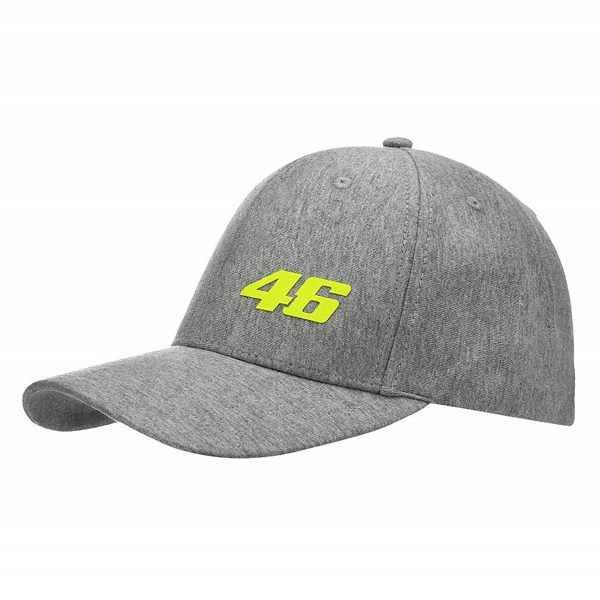 VR46 Core Baseball Cap - Grey