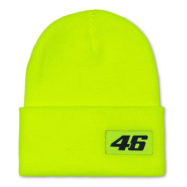VR46 Core Beanie Black - Yellow