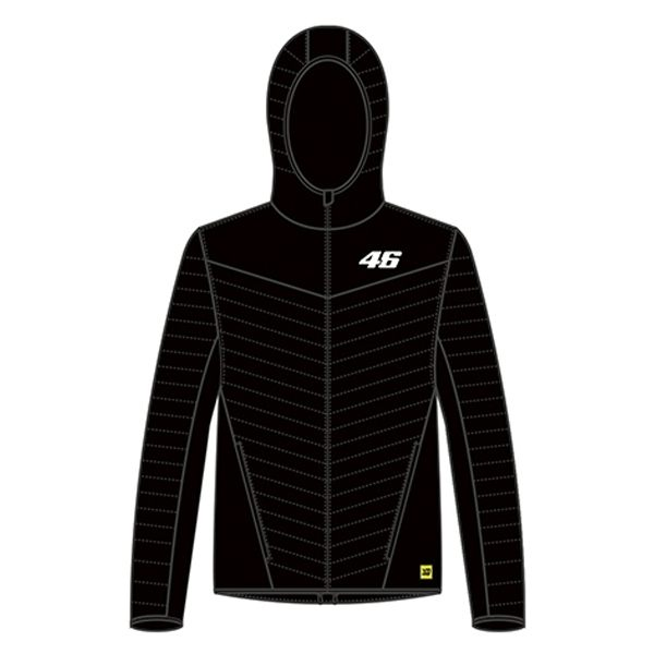VR46 Core Down Jacket - Black
