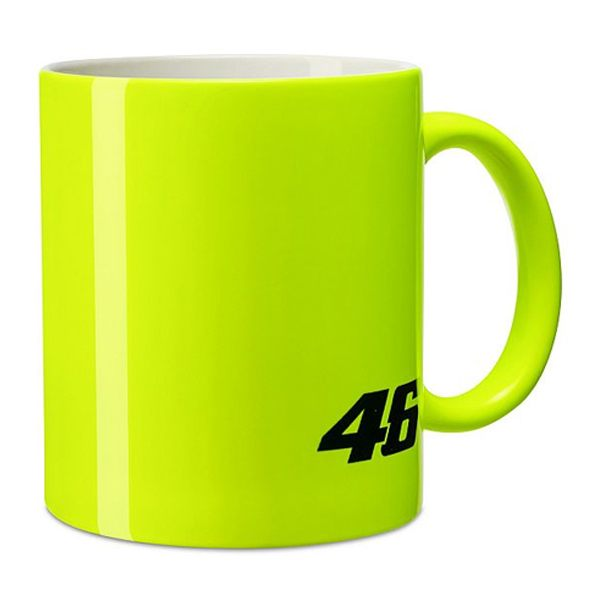 VR46 Core Mug - Yellow/Black
