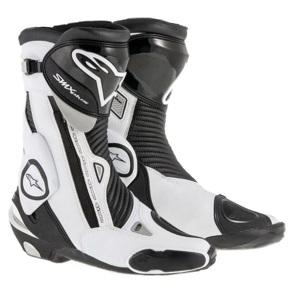 Alpinestars SMX-Plus Boots -Black/White