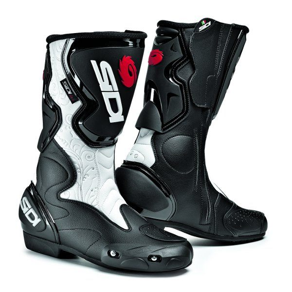 Sidi Fusion Ladies Boots - White/Black