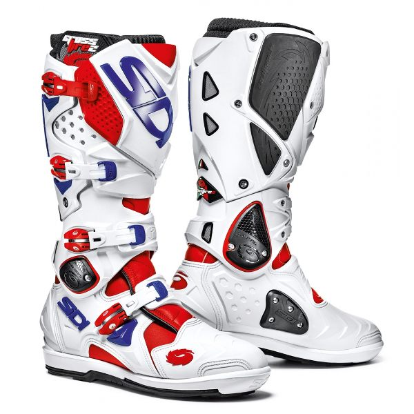 Sidi Crossfire 2 SRS Boots - Red/White/Blue