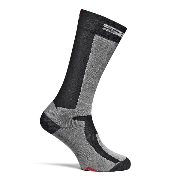 Sidi Socks Mugello - Black/Grey