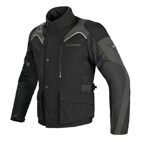 Dainese Tempest D-Dry Jacket - Black/Grey