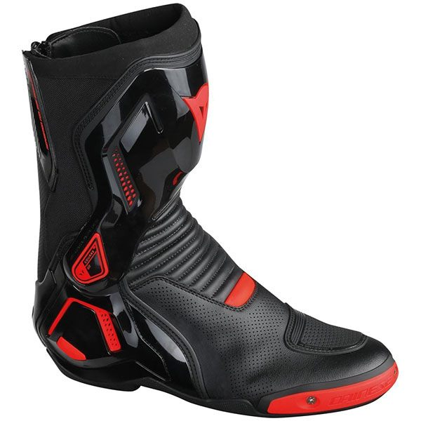 Dainese Course Out D1 Boots - Black/Fluorescent Red