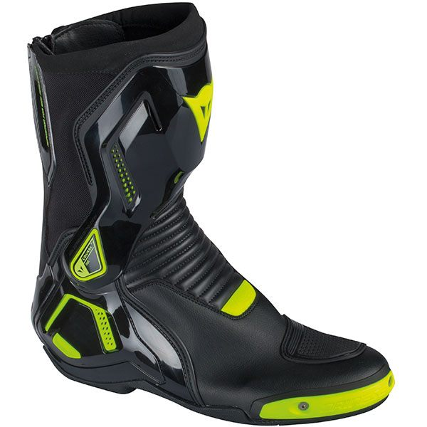 Dainese Course Out D1 Boots - Black/Fluorescent Yellow