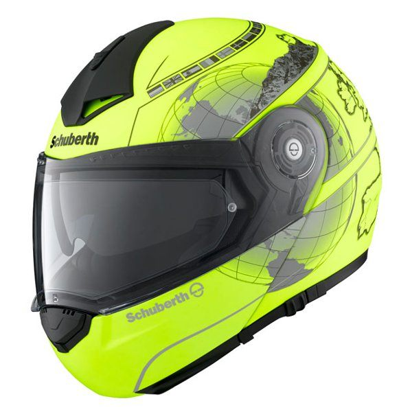 Schuberth C3 Pro - Europe Fluo Yellow