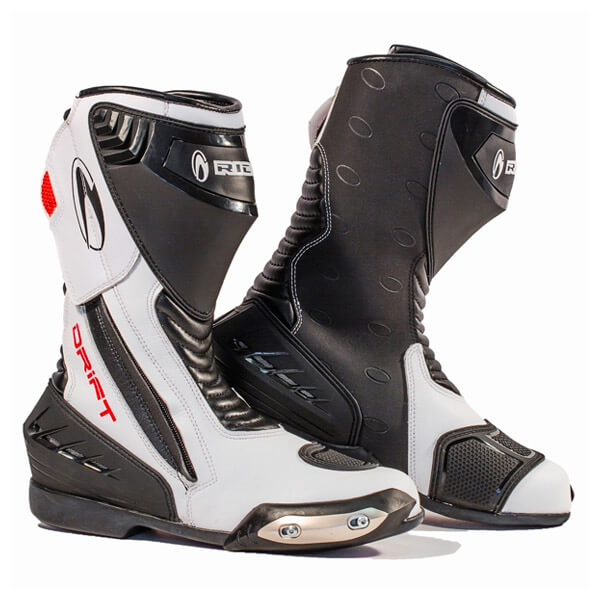 Richa Drift Boot - Black/White