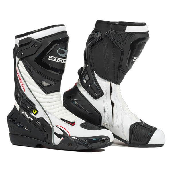 Richa Tracer Evo Boot - Black/White