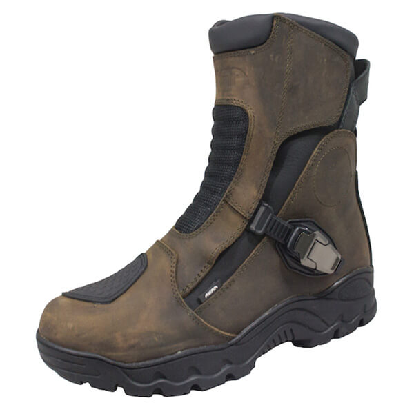 ARMR Moto Taka Waterproof Boots - Brown