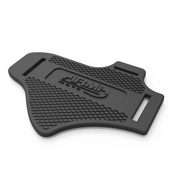 ARMR Moto Shift Protector Gear Change Pad - Black
