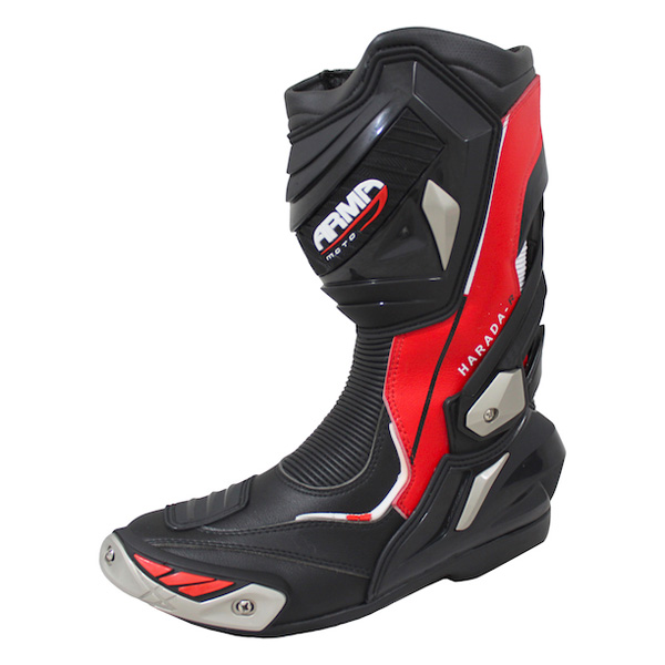 * ARMR Moto Harada R 2018 Boots - Black/Red