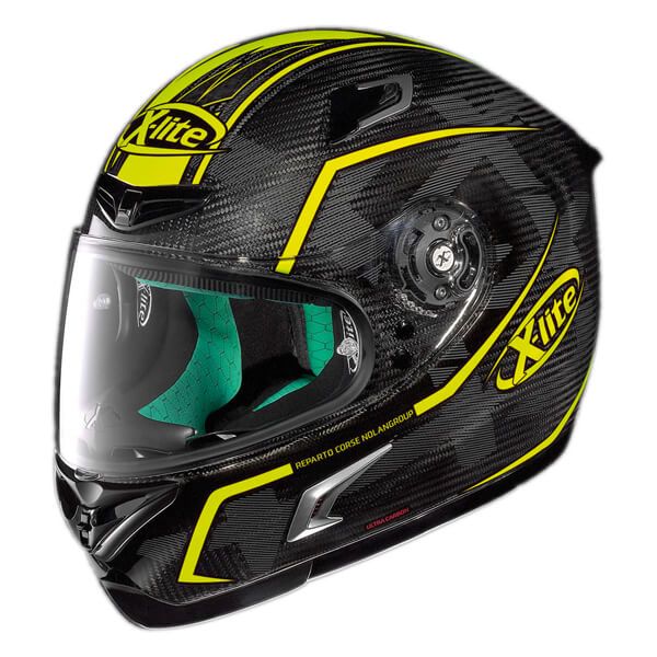 X-Lite X-802RR - U.C. Marquetry  Carbon/Yellow 020
