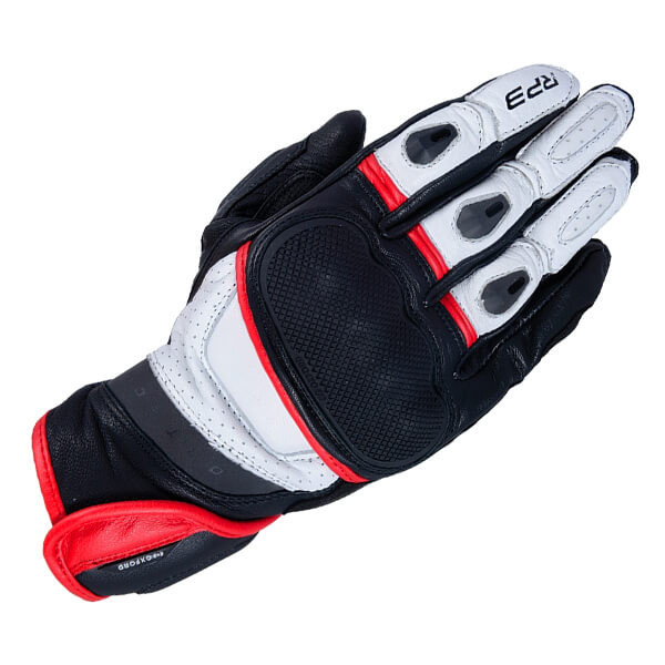 Oxford RP-3 2.0 Sports Gloves - Black/White/Red