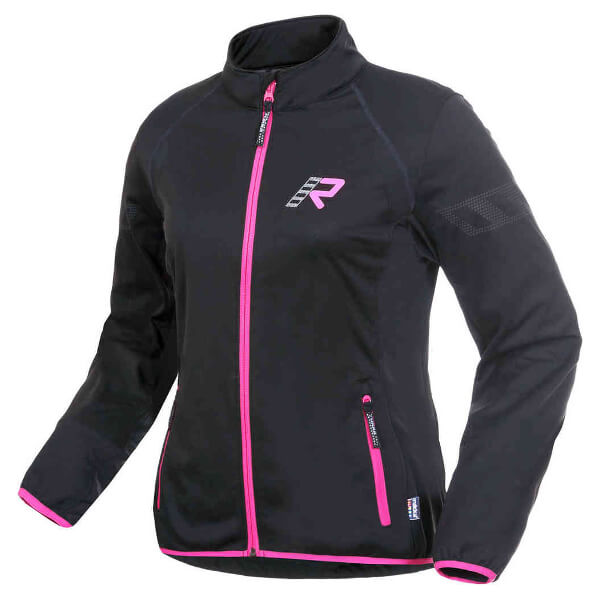Rukka Allana Soft Shell Ladies Jacket - Black/Pink