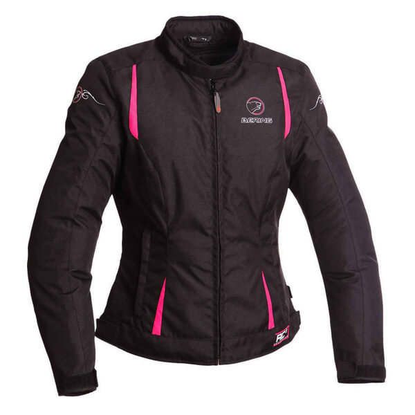 Bering Anika Ladies Jacket - Black/Pink