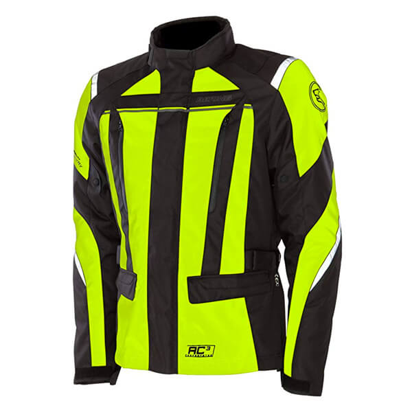 Bering Akkor jacket - Black/Yellow