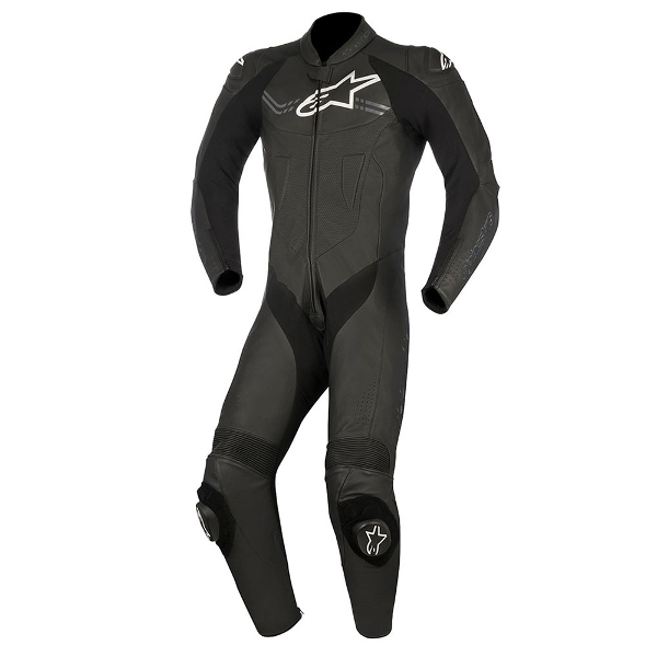Alpinestars Challenger V2 1 Piece Leather Suit - Black