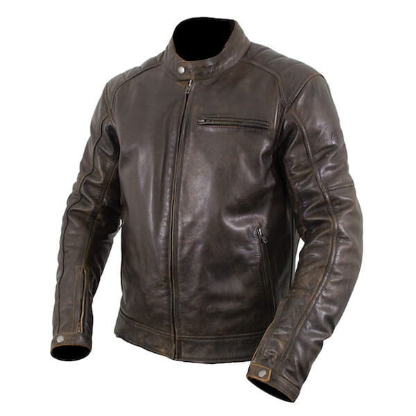 ARMR Moto Hiro Classic 2018 Leather Jacket - Brown