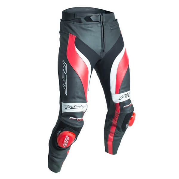 RST Tractech Evo 3 CE Leather Jeans - Red