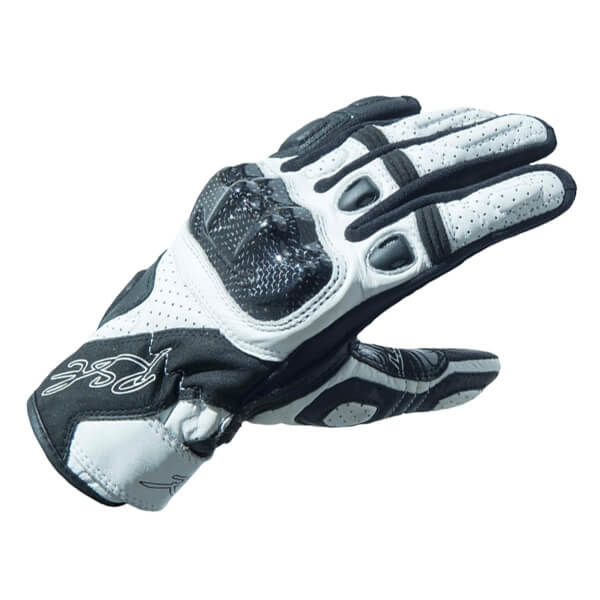 RST Stunt 3 CE Ladies Gloves - White ZD9561