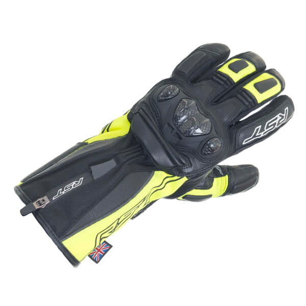 RST Paragon 5 CE Waterproof Ladies Gloves - Fluo Yellow