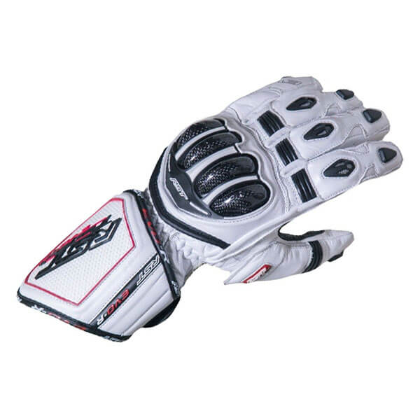 * RST Tractech Evo Race CE Gloves - White