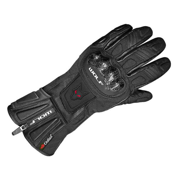 Wolf Tec Tour 2480 Outlast Gloves - Black