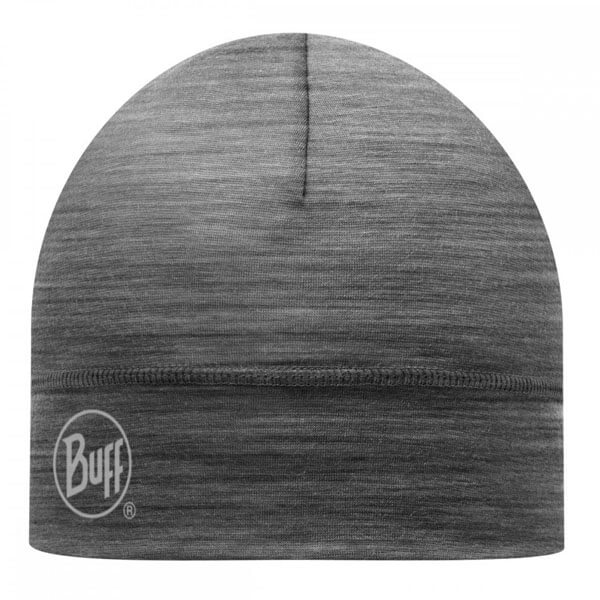 Buff Merino Wool Hat - Single Layer - Grey