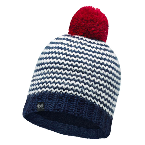 Buff Knitted Hat - Dorn Navy/Navy