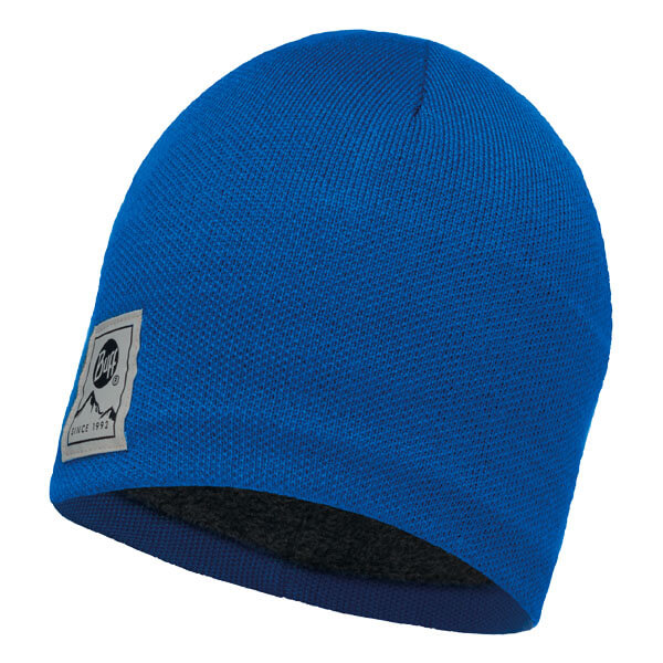 Buff Knitted Hat - Solid Blue Skydiver/Grey Vigore
