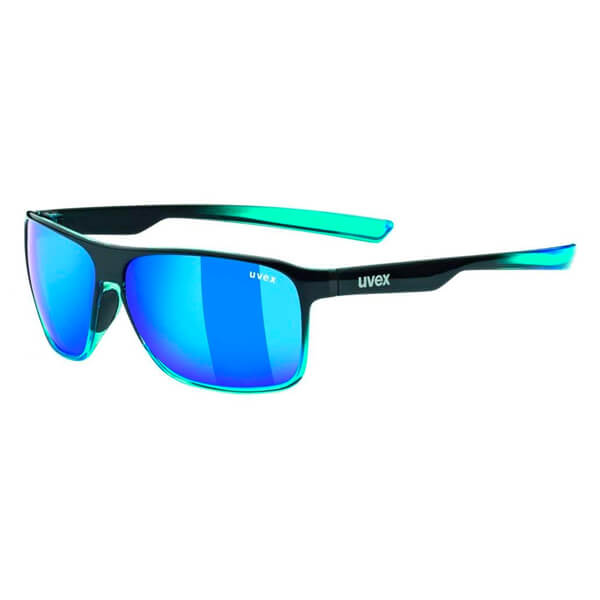 Uvex Sunglasses LGL 33 Pola - Black/Blue