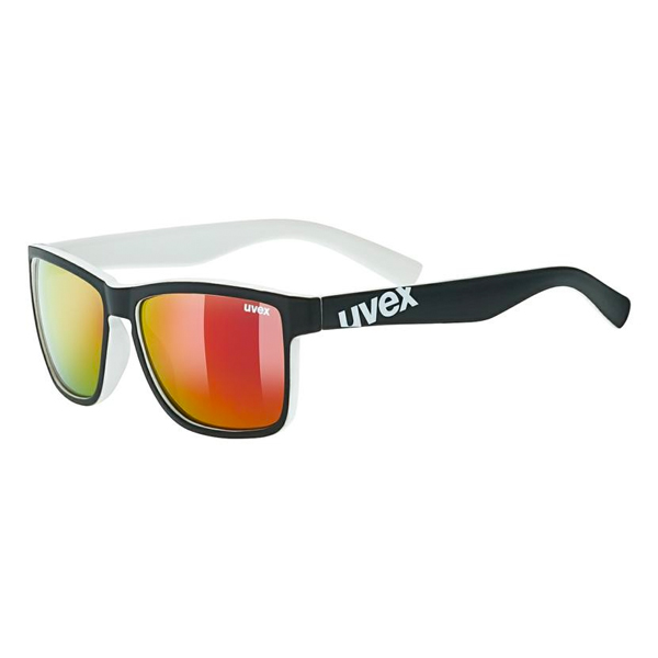 Uvex Sunglasses LGL 39 - Black/White