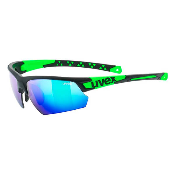 Uvex Sunglasses SP 224 - Black/Green