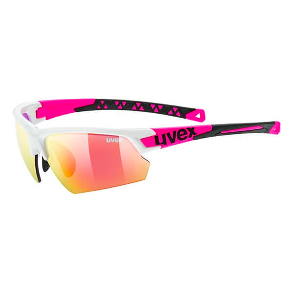 Uvex Sunglasses SP 224 - White/Pink