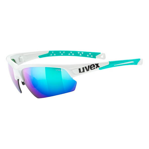 Uvex Sunglasses SP 224 - White/Green