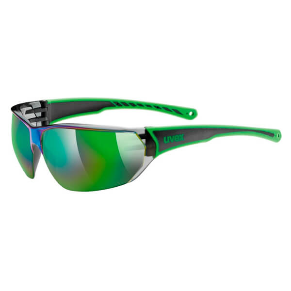 Uvex Sunglasses SP 204 - Black/Green