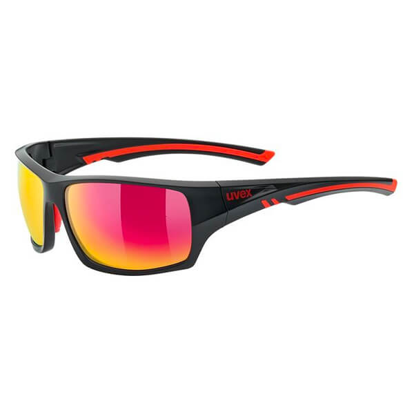 Uvex Sunglasses SP 222 Pola - Black/Red