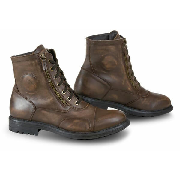 Falco Aviator Boots - Dark Brown