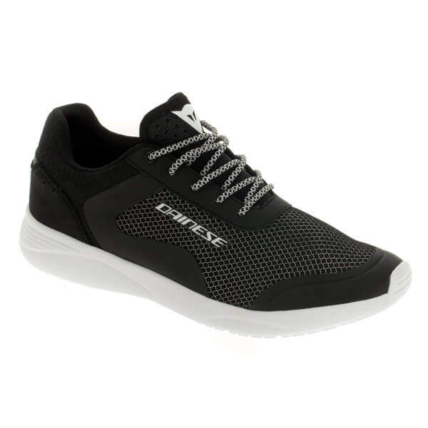 Dainese Afterace Shoes - Black/Silver/White