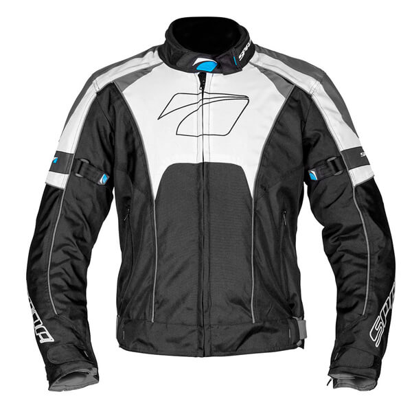 Spada Burnout Jacket - Black/Grey/White